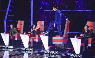 Le jury de la saison 3 de «The Voice»: Florent Pagny, Jenifer, Mika et Garou.
