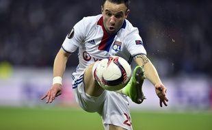 Mathieu Valbuena a notamment été à l'origine des buts de Mouctar Diakhaby et d'Alexandre Lacazette, jeudi contre l'AS Roma (4-2).