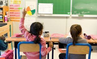 Paris le 10 janvier 2012. 20e Ecole Elementaire 20 rue Le Vau. A. GELEBART / 20 MINUTES