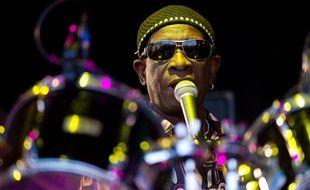 Tony Allen, légende de l'afrobeat, le 27 juin 2010.