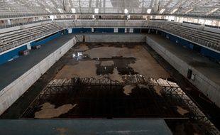 Voilà ce qu'il reste de la piscine olympique de Rio de Janeiro.