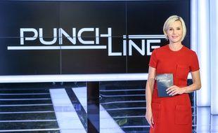 Laurence Ferrari présente l'émission «Punchline».