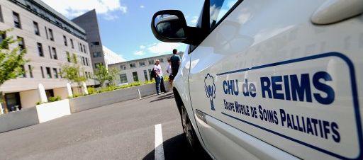 Vincent Lambert était hospitalisé au CHU de Reims, dans la Marne.