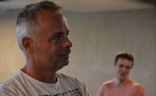 Michel Ancel, dans les studios d'Ubisoft à Castelnau-le-Lez