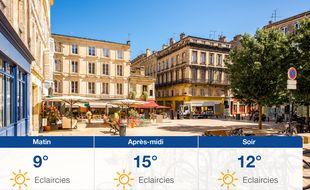 Météo Bordeaux: Prévisions du samedi 28 mars 2020