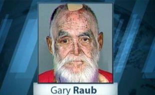 Capture d'écran d'un reportage d'ABC News sur Gary Sanford Raub, arrêté aux Etats-Unis après un meurtre commis en 1976.