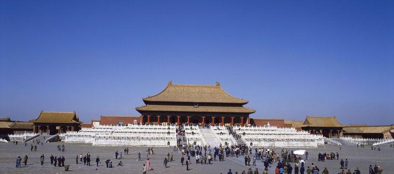 La Cité interdite de Pékin en Chine.
