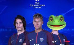 Les trois stars du PSG