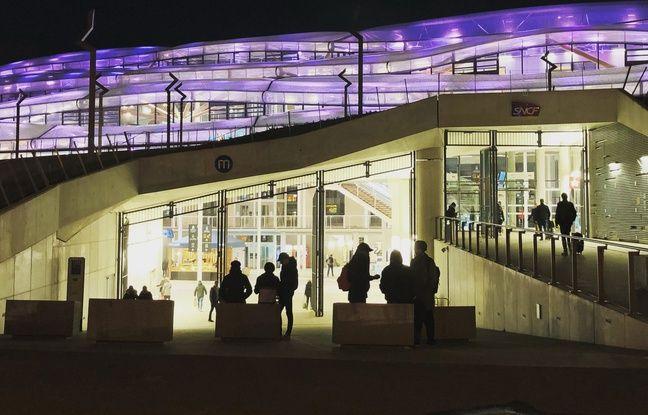 Rennes: Non, le tout nouveau toit de la gare n'est pas percé