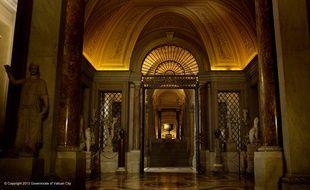 Le musée du Vatican.