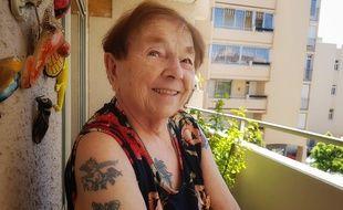 Micheline, 90 ans, a commencé le tatouage à l'âge de 70.