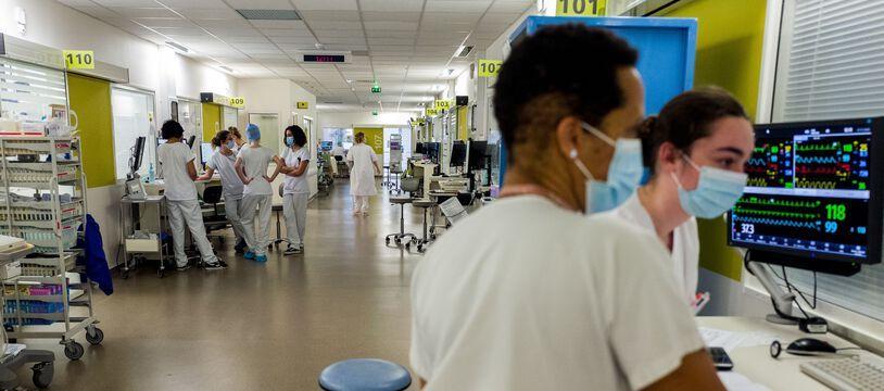Le service réanimation de l'hôpital Purpan à Toulouse.
