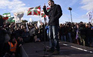 Arnaldo Otegi,  figure de l'indépendantisme basque est sorti de prison mardi en Espagne.