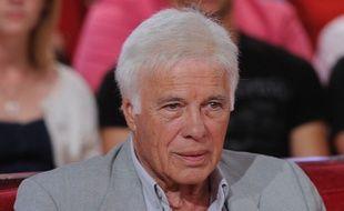Guy Bedos sur le plateau de «Vivement Dimanche» en septembre 2014