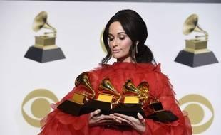 Kacey Musgraves est repartie des Grammy avec quatre récompenses.