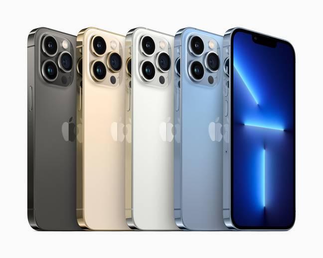 L'iPhone 13 Pro lancé le 24 septembre 2021.