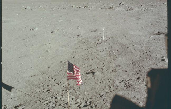 Une photo de la mission Apollo 11 en 1969