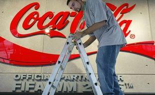 Illustration de la marque Coca Cola.