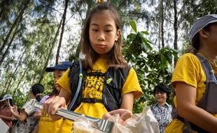 Lilly, militante écologique