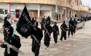 Une image d'archives datant de 2014 de Daesh en Syrie.
