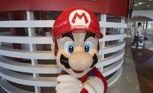 Super Mario, la mascotte de Nintendo, devrait être présente dans le futur musée de l'entreprise.