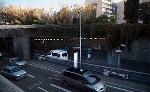 C'est sous le tunnel du Vieux-Port à Marseille que les premiers coups de feu ont été échangés.
