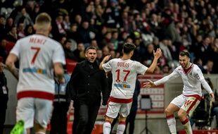 Adam Ounas a permis aux Girondins de s'imposer samedi soir à Lille