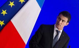 Manuel Valls le 21 mars 2016.
