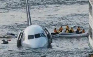 Les images de l'amerrissage