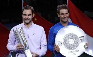 Federer et Nadal, en 2017