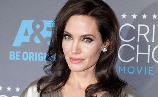 Angelina Jolie en janvier 2015.