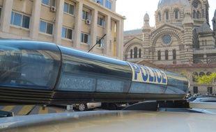 Marseille. Illustration police
