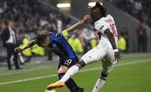 Le Lyonnais Bertrand Traoré débloque le score juste avant la mi-temps