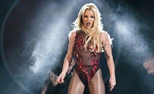 Britney Spears au Jingle Bash à Chicago le 11 décembre 2016