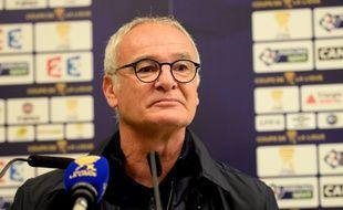 L'entraîneur nantais Claudio Ranieri.