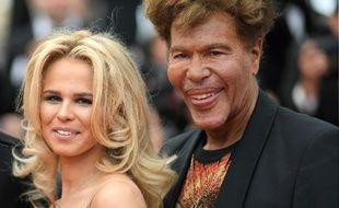 Igor Bogdanov et Julie Jardon à Cannes.