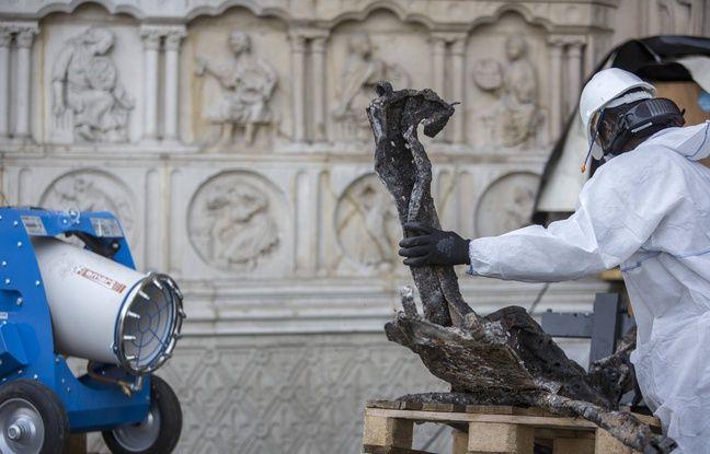 Plainte contre X, écoles fermées, chantier arrêté... Faut-il craindre une contamination au plomb autour de Notre-Dame?