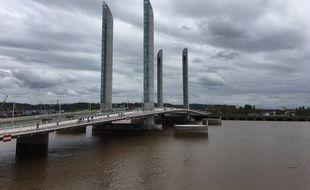 Le pont Chaban Delmas à Bordeaux