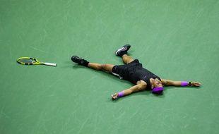 Rafael Nadal en finale de l'US Open 2019