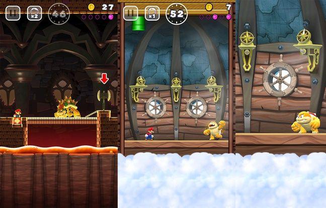 A la fin de chaque monde, on retrouve des boss à affronter. Un classique du jeu vidéo en général et de Mario en particulier.