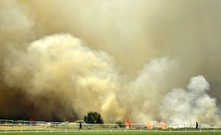 Les nombreux incendies ont engendré des fumées toxiques en Australie. Ici, près de Perth, le 13 décembre 2019.
