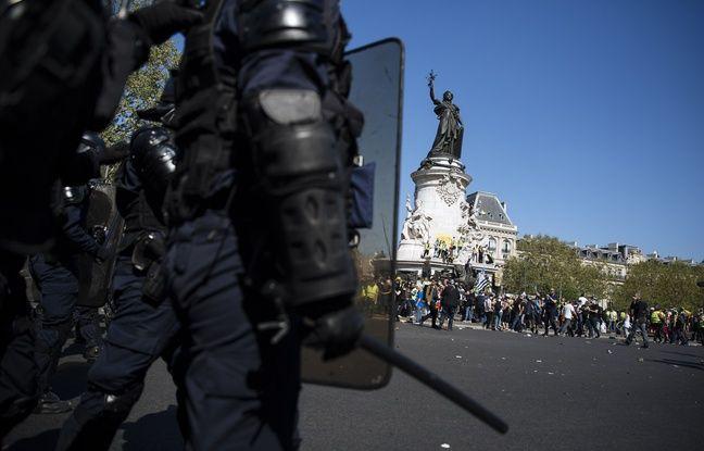 VIDEO. «Gilets jaunes»: Indignation dans la classe politique après les slogans «suicidez-vous» lancés aux policiers