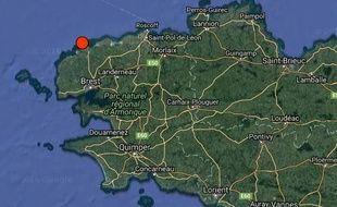 L'épicentre du séisme était situé au nord de Brest.