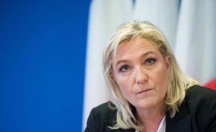 Marine Le Pen à Suresnes le 16 janvier 2015.