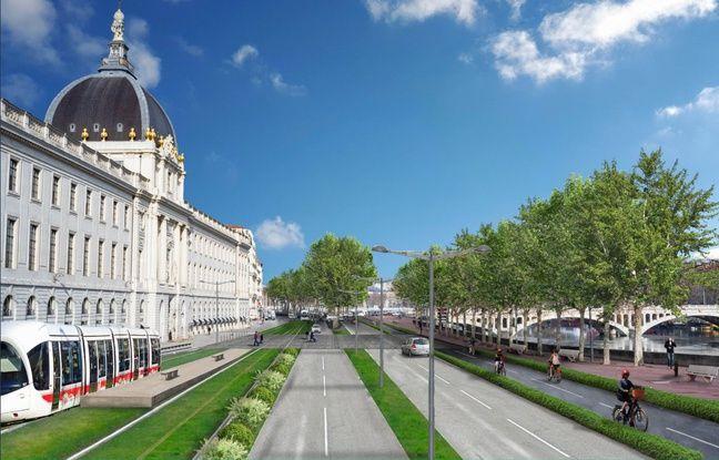EELV ambitionne de relooker une partie de la rive droite des quais du Rhône à Lyon