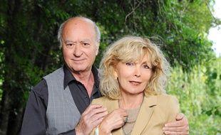 Georges et Maryse Wolinski. Le 28/08/11.