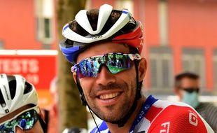 Thibaut Pinot au départ du Critérium du Dauphiné, le 13 août 2020.