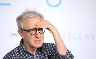 Woody Allen à la conférence de presse du film «L'Homme irrationnel» à Cannes le 15 mai 2015.