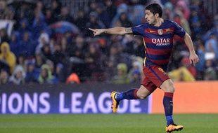 Luis Suarez a marqué le deuxième but de Barcelone face à Arsenal.