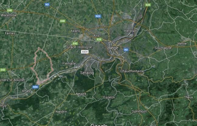 Saint-Georges-sur-Meuse, entre Namur et Liège en Belgique.